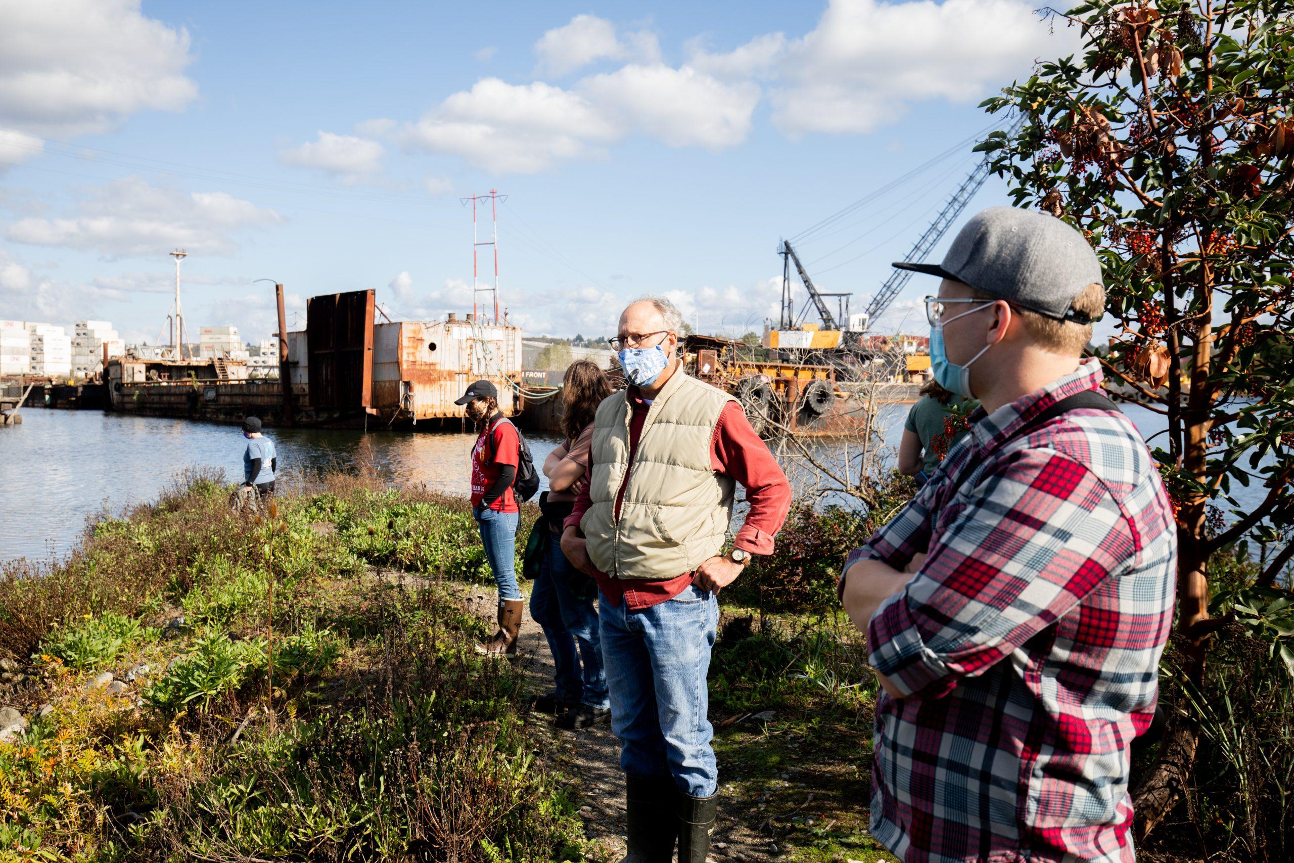 Duwamish Restoration Site Walking Tour with LLTK Executive Director, Jacques White