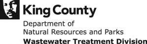 Logo: King County Department of Natural Resources and Parks; Wastewater Treatment Division